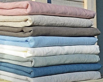 Linen flat sheet without seams / Organic flat sheet