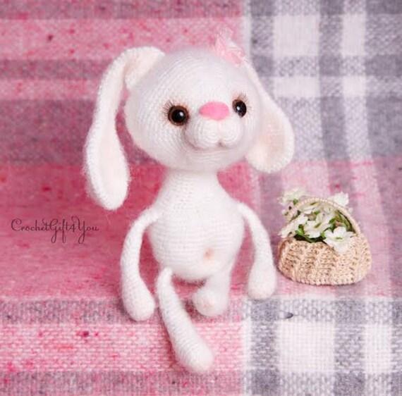 Cute Little Bunny / Crochet Rabbit / Crochet Bunny / Amigurumi