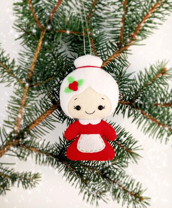 Mrs Claus Christmas Decorations Part - 22: Christmas Decorations Santa And Mrs Claus Christmas Ornaments Holiday Decor  Christmas Gift For Baby Christmas Tree Decoration New Year Decor