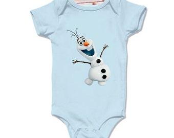 LoNyatanee olaf frozen smile Onesie Baby Onesie Bodysuit Kids Clothing