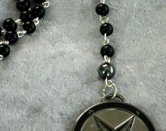 Alloy Baphomet Rosary