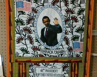 President Obama Wall Quilt