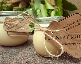 Country Kitchen Handmade Aromatherapy Soy Candle