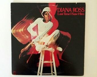 Diana Ross - Last Time I Saw Him  vinyl record album LP