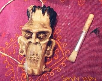 Franky's shrunken head
