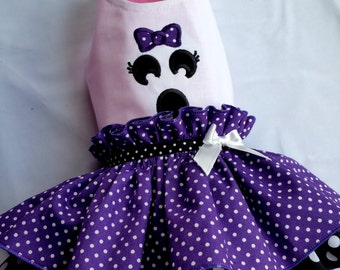 Small dog clothes Chihuahua clothes, Dog Halloween outfit ghost Designer dog clothes Puppy clothes  Boston terrier, Maltese Custom size