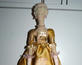 Rosalind doll tilde handmade