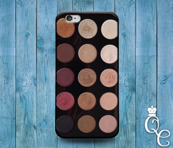 iPhone 4 4s 5 5s 5c SE 6 6s 7 plus iPod Touch 4th 5th 6th Generation Cute Makeup Eyeshadow Palette Girly Girl Eyebrow Artist Cool Cover Case