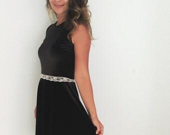 Item 036 velvet gown