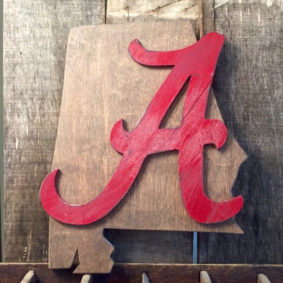 Alabama sports fan wall decor roll tide small by for Alabama football wall mural