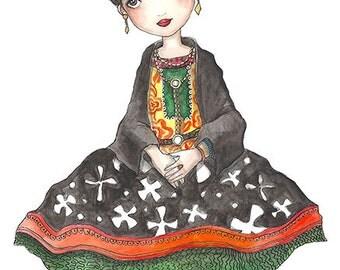 Friducha (Frida Kahlo) // Print
