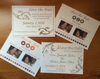 Save The Date Card - DEPOSIT