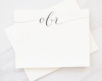Custom Stationery-Personalized Stationery-Monogram Stationery