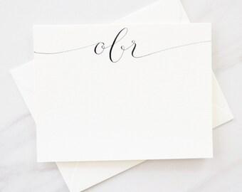 Custom Stationery-Personalized Stationery-Monogram Stationery