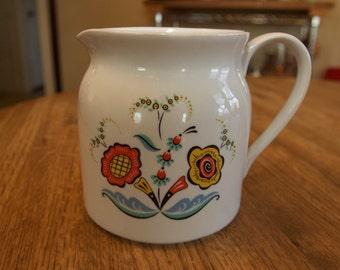 Swedish Flower pitcher