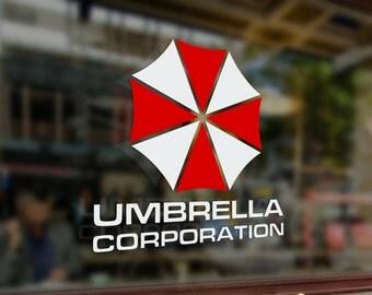 Umbrela Corporation Vinyl decal