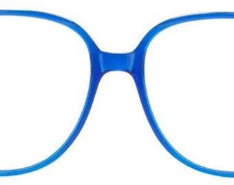 Vintage Blue Plastic Spectacles
