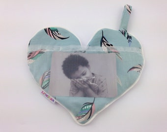 cuddlepic heart mint feathers/Col k.r. mint springs