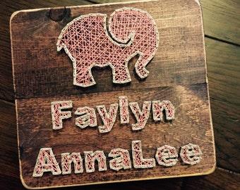 Elephant String Art (you pick the name!)
