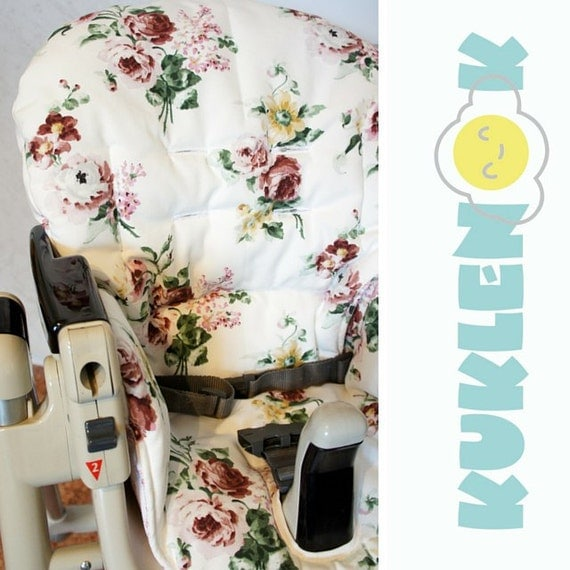 peg perego prima pappa diner high chair cover flowers. Black Bedroom Furniture Sets. Home Design Ideas