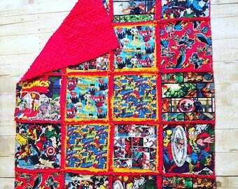 baby rag quilt / toddler rag quilt / childs rag quilt / custom rag quilt / tummy time