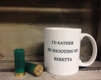 shooting mug- beretta-shooting-clay shooting- gun-gun mug-coffee mug-tea mug-guns-countryside-gamekeeper