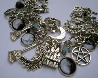 Witchcraft charm bracelet