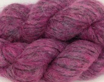 Berroco Cirrus Yarn, Color Erie Sunset, Superkid Mohair, Nylon, Merino Wool Extra Fine; Bulky Weight