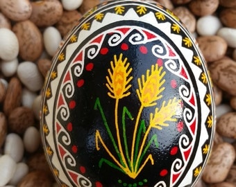 Pysanky - Wheat With Wide Boarder