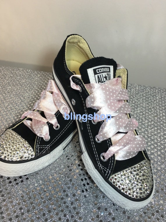 Blinged Swarovski Converse Shoes Crystallized Chuck by Blingsshop 30 ... b6f745cbd