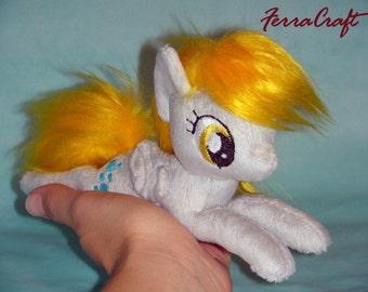 Derpy My Little Pony plushie