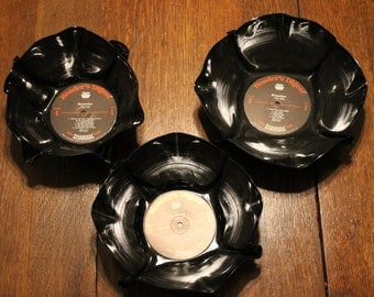 Record  Album Bowls