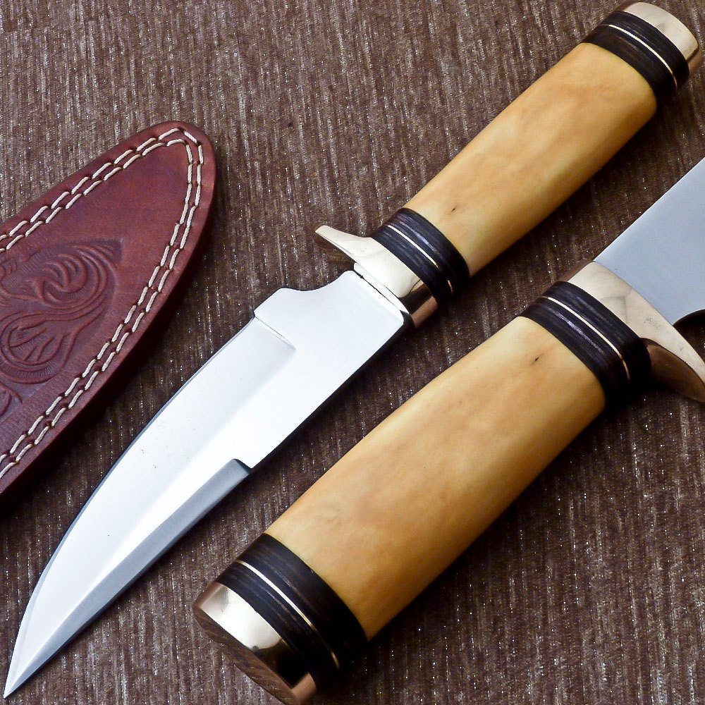 Custom Fixed Blade Knife Handmade with Sheath by WesanyCrafts   1000 x 1000 jpeg 267kB