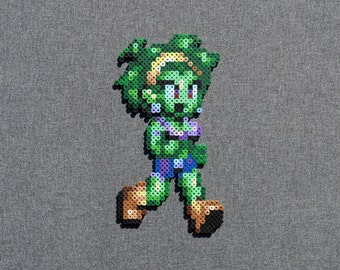 Shantae and the Pirate's Curse Perler Bead Sprite - Rotty Tops