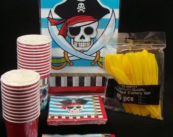 Pirate Theme Birthday Package