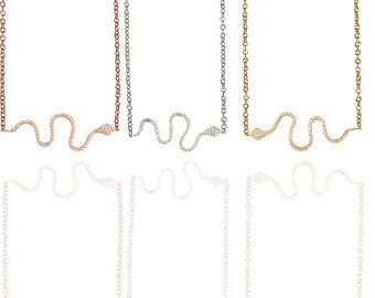 Snake Necklace 925 / Sterling Silver