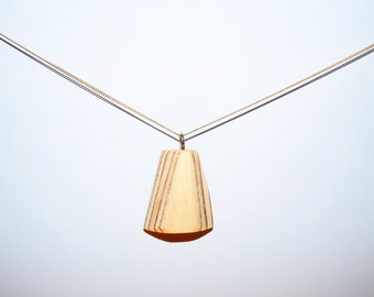 Recycled pendant necklace