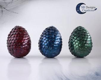 Dragon eggs decoration, fantasy decoration, dragons, dragonfan, magical egg, glass bell decoration, handmade, gift for dragonlovers
