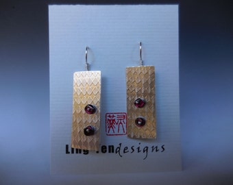 Dream Series with Sterling silver, Garnet