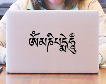 Om Mani Padme Hum Decal