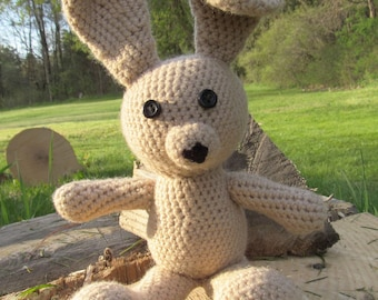 Amigurumi Bunny Rabbit WITHOUT Clothing
