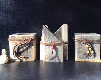 Driftwood Pencil Box