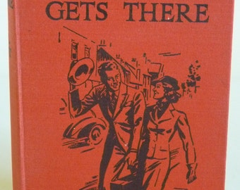 Vintage Children's Book - Gerda Gets There - Ethel Talbot - First Edition - 1940