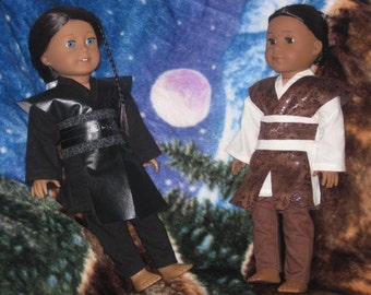 6 pc Galactic Warrior outfit for 18inch dolls