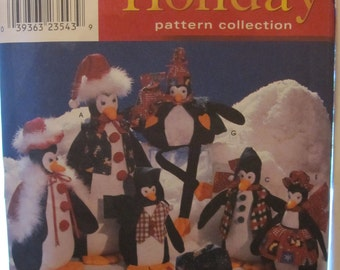 PATTERN SIMPLICITY 8982 HOLIDAY,... Penguins of 25.5 cm by 30.5 cm 35.5 cm 40.5 cm 51 cm