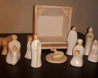 rare jack black nativity scene
