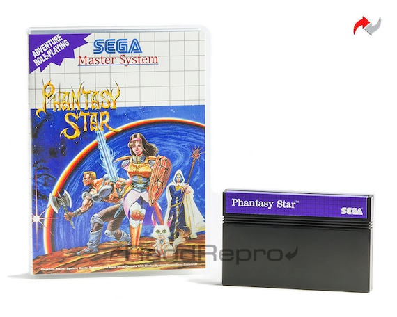 Phantasy Star Reproduction (Sega Master System, 1988) Repro