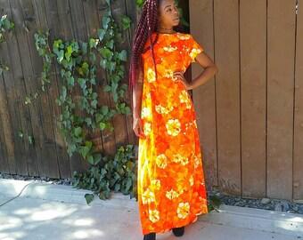 Vintage. 1960s.1970s. Dress.