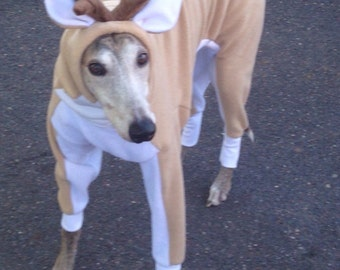 Greyhound Costume Reindeer custom sized
