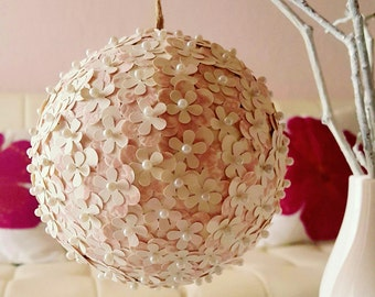 Assortment of Paper Flower Pomander Balls